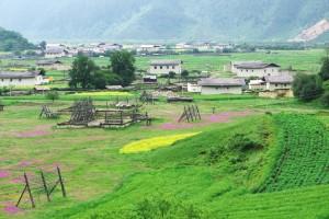 La campagne près de Shangri-La, Yunnan
