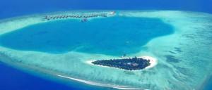Un atoll dans la Mer des Caraïbes - © Timo Newton Syms