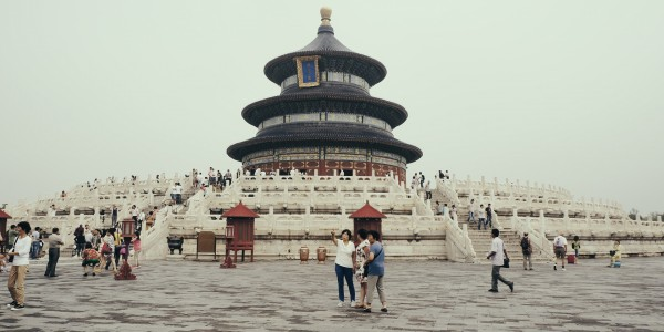 Le Temple du Ciel, à Pékin