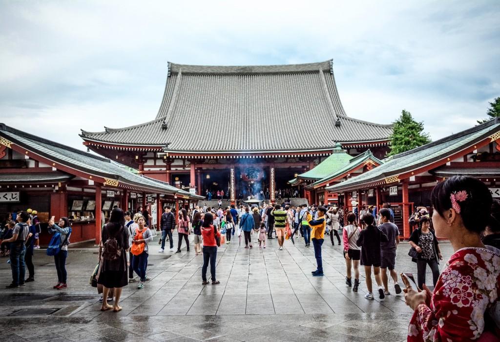 La Chine et ses temples magnifiques