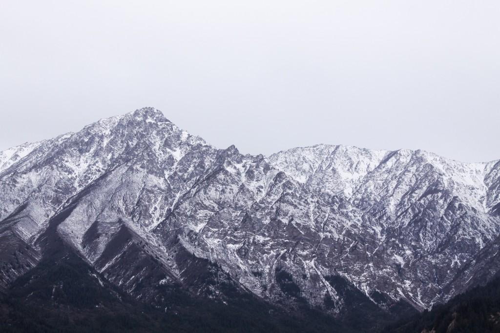 Les jolis paysages montagneux de la Chine - © liszt yu