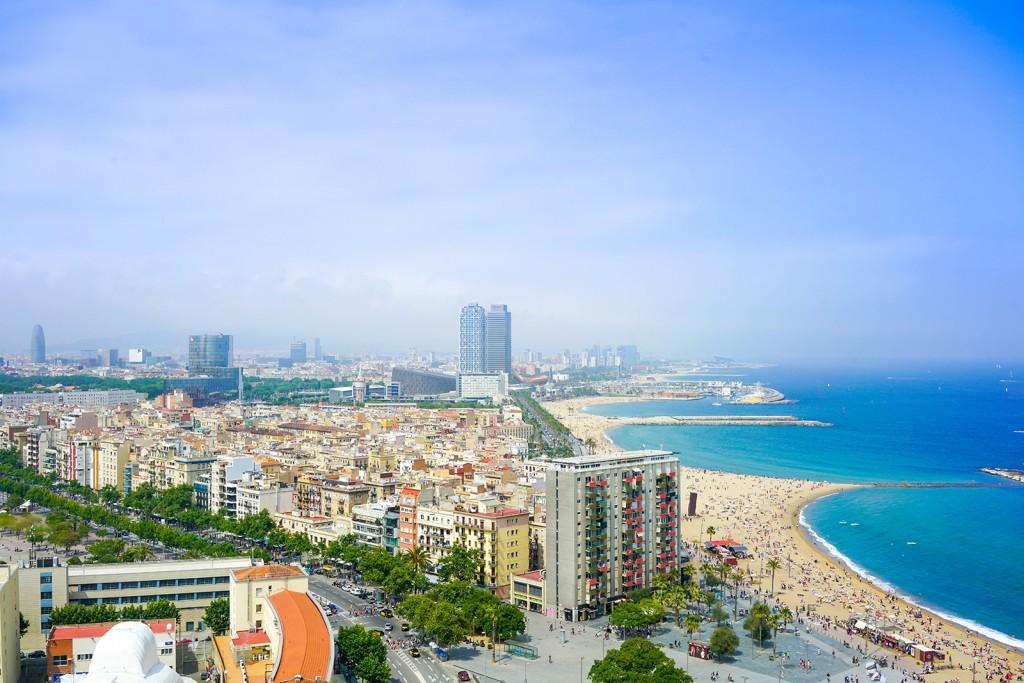 Vue sur Barcelone, en Espagne - © Enes