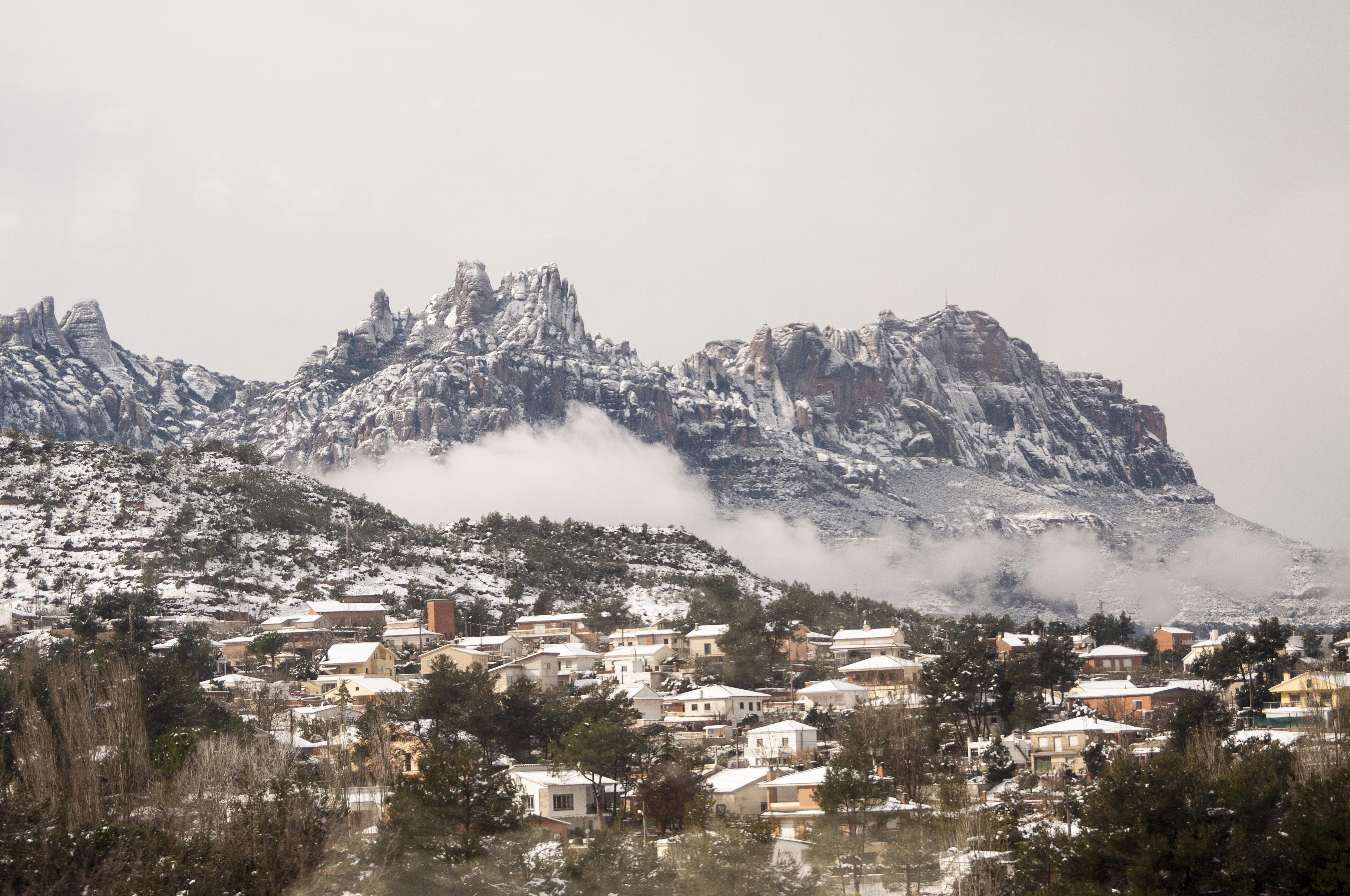Vacarisses sous la neige, Espagne - © Eder Pozo Pérez