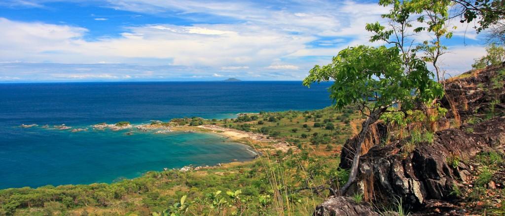 Le littoral près de Nkwichi, Mozambique - © TravelingOtter