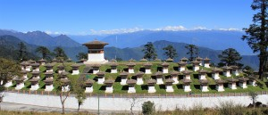 Dochula Pass, entre Punakha et Thimphu - © Arian Zwegers