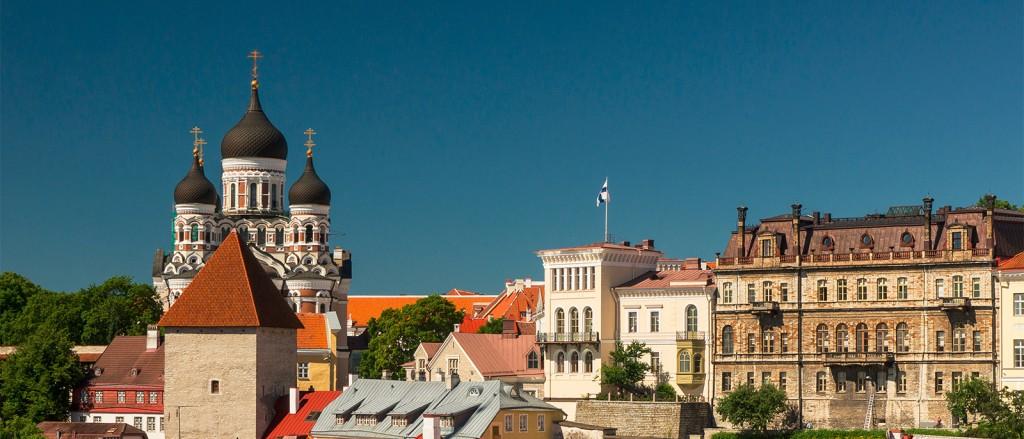 Vue sur la cathédrale Alexandre Nevski - © Guillaume Speurt