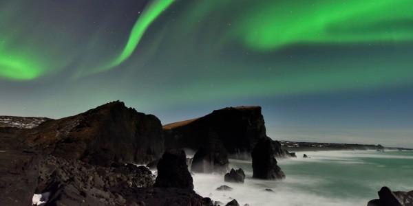 Les splendides aurores boréales du Sud de l'Islande - © Diana Robinson