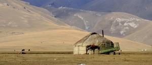 Près du lac Song-Kol, Kirghizistan - © Prashant Ram