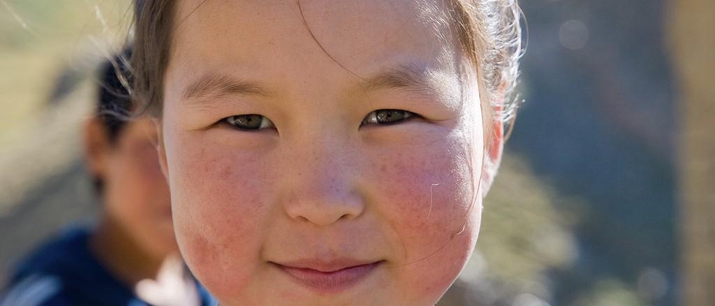 Une enfant nomade, Kirghizistan - © Gustavo Jeronimo