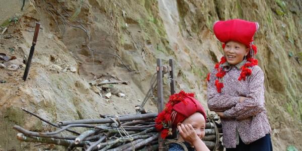 Des femmes Dao au travail - © Fredsharples