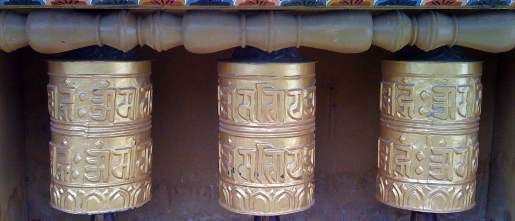 Les rouleaux de prière de Thimphou, Bhoutan - © avinash singh