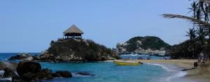 Sur les plages de Cabo San Juan, Colombie - © Arden