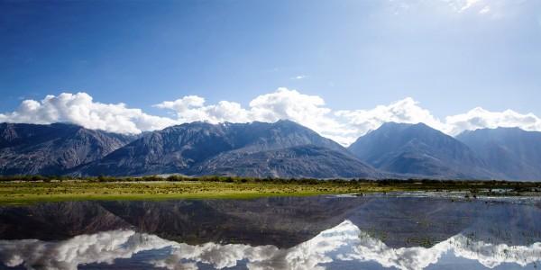 La belle vallée de la Noubra au Ladakh - © Shankii