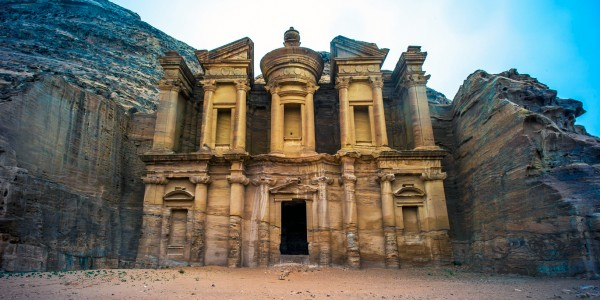 Le Deir, monastère de Pétra, Jordanie - © Colin Tsoi