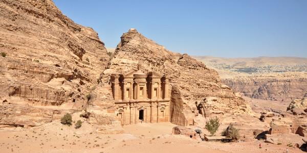 Le monastère de Petra, Jordanie - © Jorge Láscar