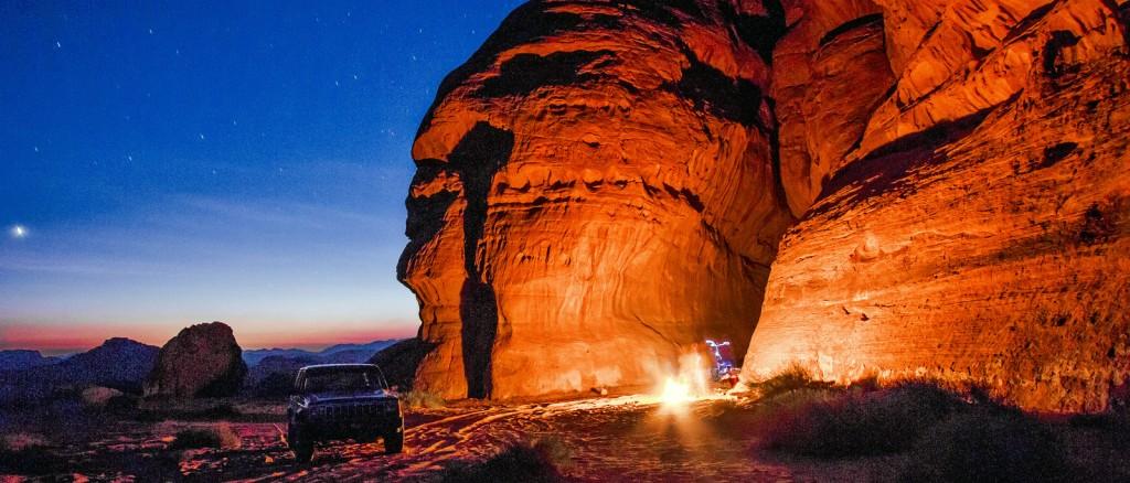Une nuit dans le Wadi Rum, Jordanie - © Lawrence Murray