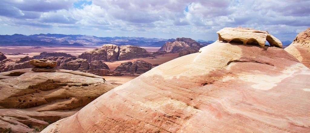 Le désert de Wadi Rum, Jordanie - © Lawrence Murray