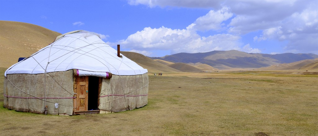Une yourte nomade, Kirghizistan - © Prashant Ram
