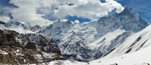 Vue sur l'Annapurna, Népal - © Andrew and Annemarie