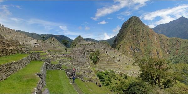 En haut du Machu Picchu, Pérou - © Jason Wesley Upton