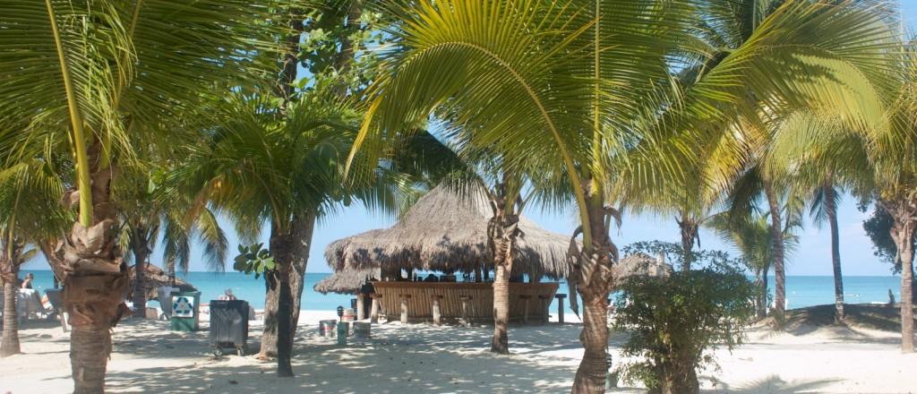 Sur une plage, près de Negril, en Jamaïque - © Karl Kyhl