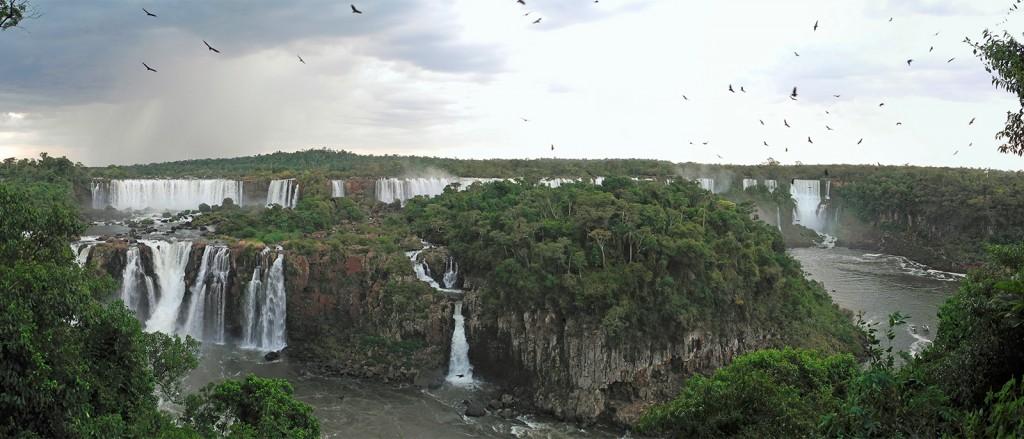 Les impressionnantes chutes d'Iguazù - © David Becker