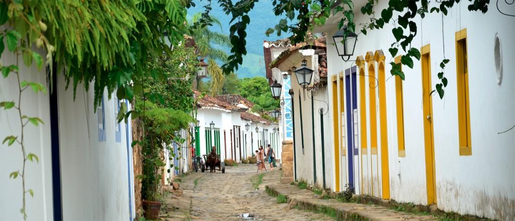 Dans les rues de Paraty, Brésil - © Rodrigo Soldon