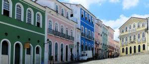 Les maisons colorées de Salvador de Bahia - © DEZALB