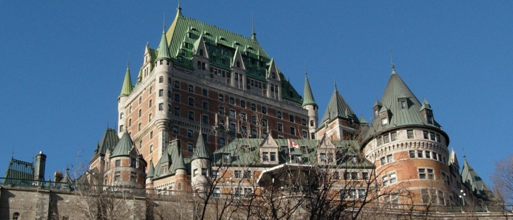 Le château Frontenac de Québec - © Jean-David & Anne-Laure