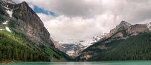 Le magnifique lac Louise, parc national de Banff - © Claude Robillard