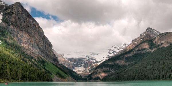 Le magnifique lac Louise, parc national de Banff - © Claude Robillard
