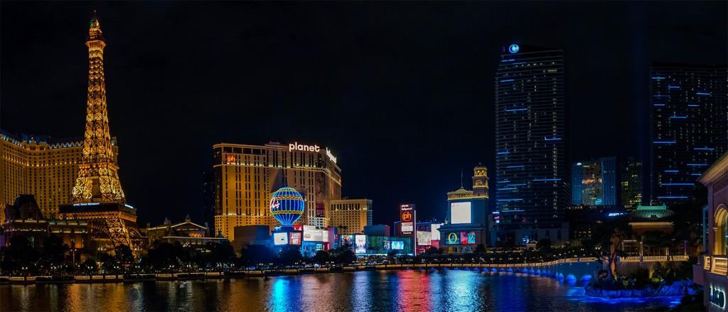 Vue du Bellagio sur Las Vegas, Etats-Unis - © Felipe Valduga
