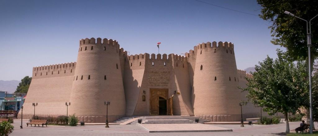 La citadelle d'Alexandre le Grand à Khujand, Tadjikistan - © Oleg Brovko