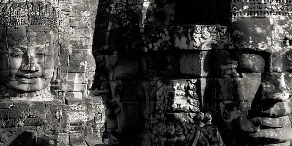 Les visages du temple d'Angkor Thom, Cambodge - © Chi King
