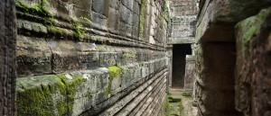 Le temple Bayon, à Angkor Wat, au Cambodge - © ND Strupler