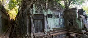 Le temple de Beng Mealea, Cambodge - © Lawrence Murray