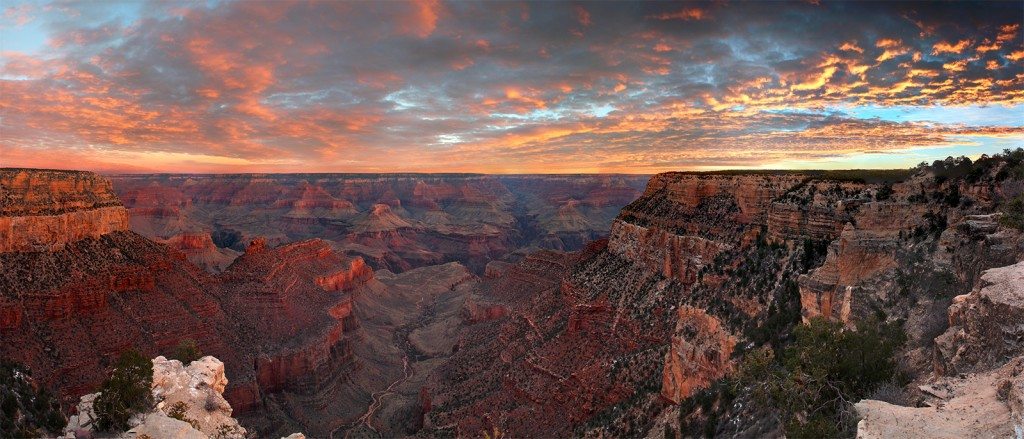 Lever de soleil sur le Grand Canyon - © Grand Canyon National Park