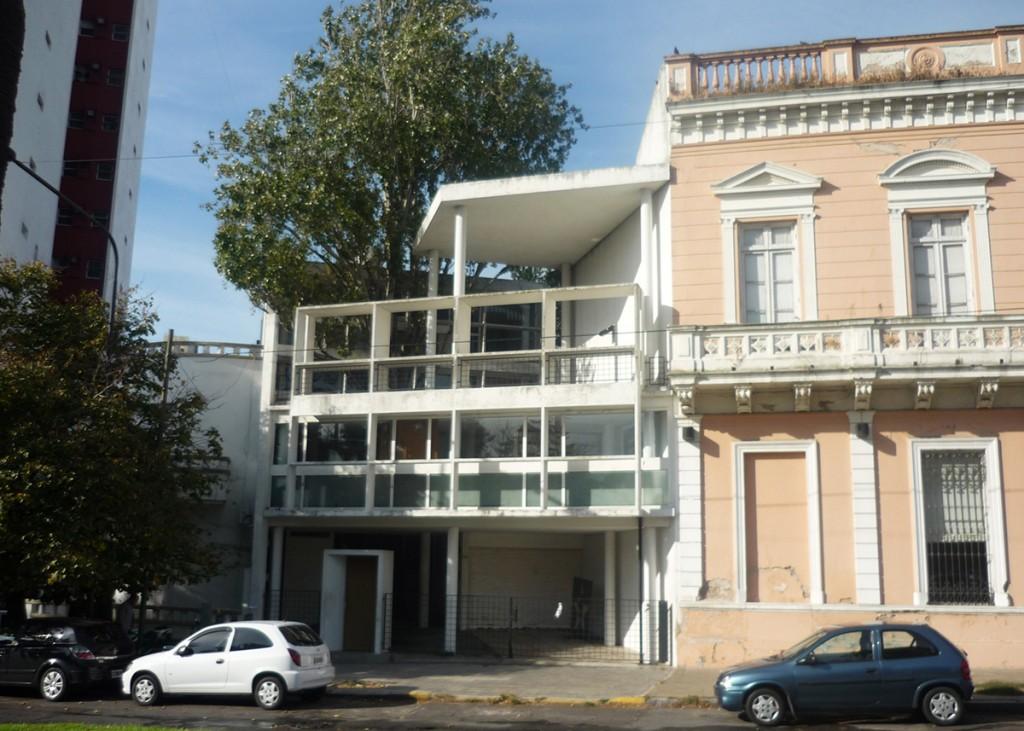 La maison du Dr Curutchet, à La Plata, en Argentine