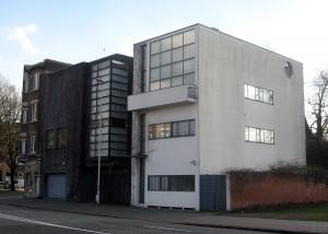 La maison Guiette, à Anvers, en Belgique