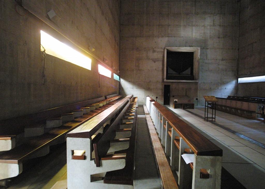 Le couvent de Sainte Marie de la Tourette, à Eveux, en France