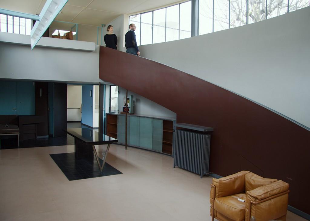 La Maison La Roche-Jeanneret, à Paris, en France