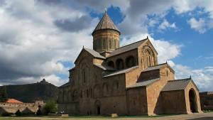 La cathédrale de Svetitskhoveli, en Géorgie, l'un des sites de Mtskheta - © ika6_