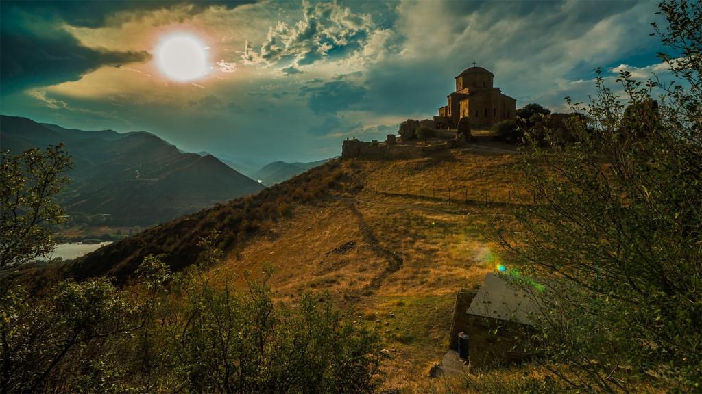 Le monastère de Djvari, en Géorgie, l'un des sites de Mtskheta - © Sergey Polyakov