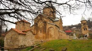 Le monastère de Samtavro, en Géorgie, l'un des sites de Mtskheta - © Thomas Lønbæk