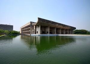 Le complexe du Capitole, à Chandigarh, en Inde