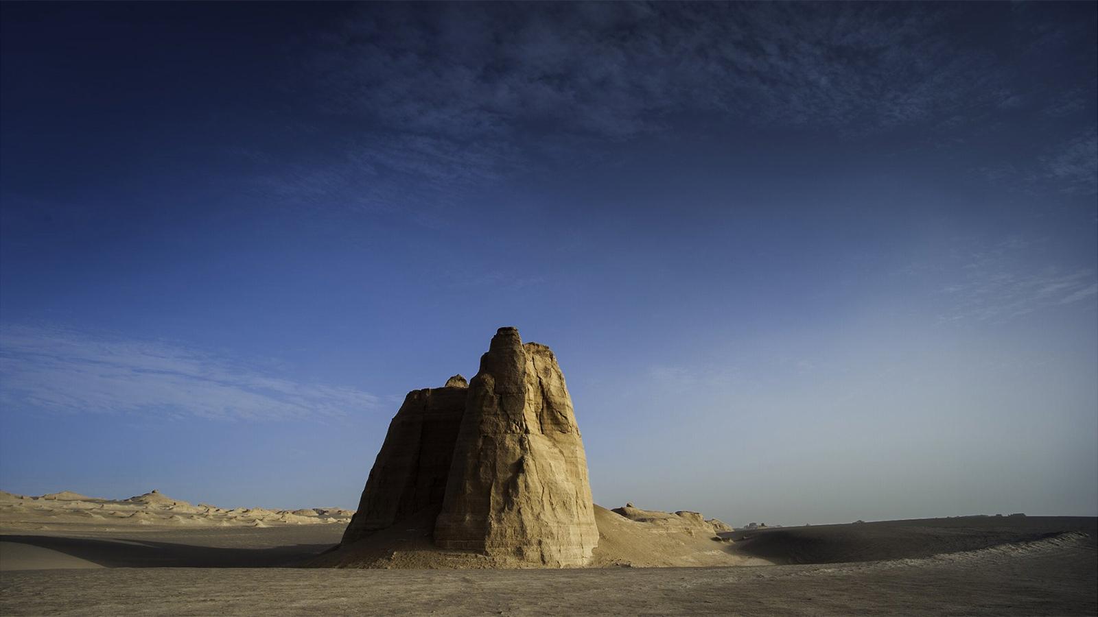 Les formations rocheuses du désert de Lout (Dasht-e-Lut), en Iran - © Fermin Ezcurdia
