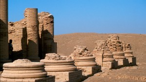 Les vestiges de la ville d'Uruk, en Iraq - © Hdpsp