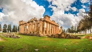 Le site archéologique de Cyrène, en Libye - © ali almadani