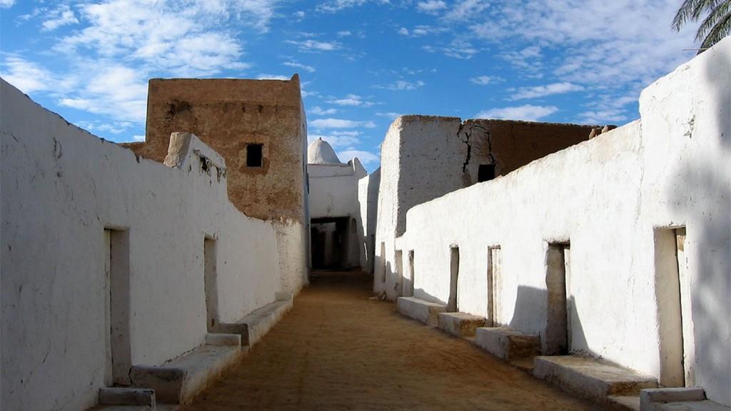 L'ancienne ville de Ghadamès, en Libye - © Libyan Soup