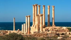 Le site archéologique de Sabratha, en Libye - © Claude